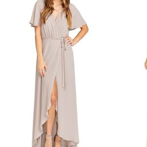 Sophia Wrap Dress in Show Me the Ring- Small